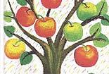 苹果树一家的事【睡前故事】