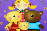 金发姑娘和三只熊【幼儿故事】