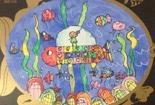 儿童水彩画作品欣赏-海底漫游