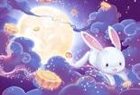 有爱的故事小动物送月饼