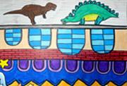 5068儿童网儿童学画画第54课-颠倒的房子