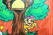 5068儿童网儿童学画画第69课-愉快的周末