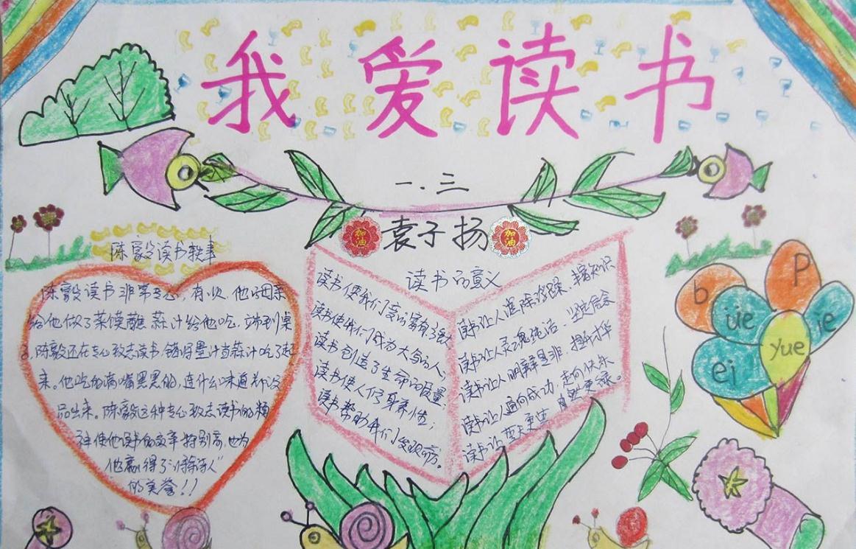 <b>我愛讀書語文閱讀手抄報</b>