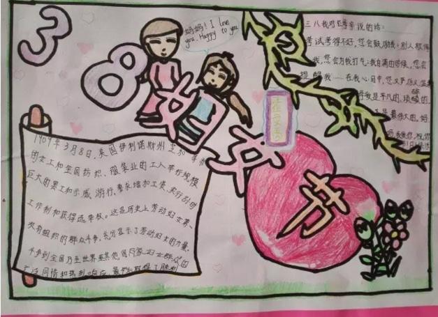 3.8婦女節祝福手抄報集錦