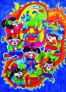 新年手抄报  春节新年祝福手抄报大全