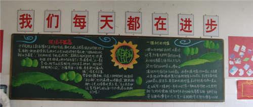 312植树节黑板报内容
