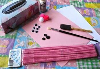 兔子收納盒制作教程—兒童收納盒