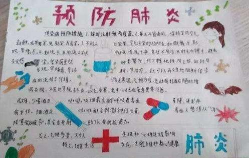 2020抗击疫情中国加油手抄报内容