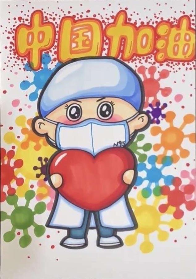 2020預防冠狀病毒手抄報_有關病毒的手抄報