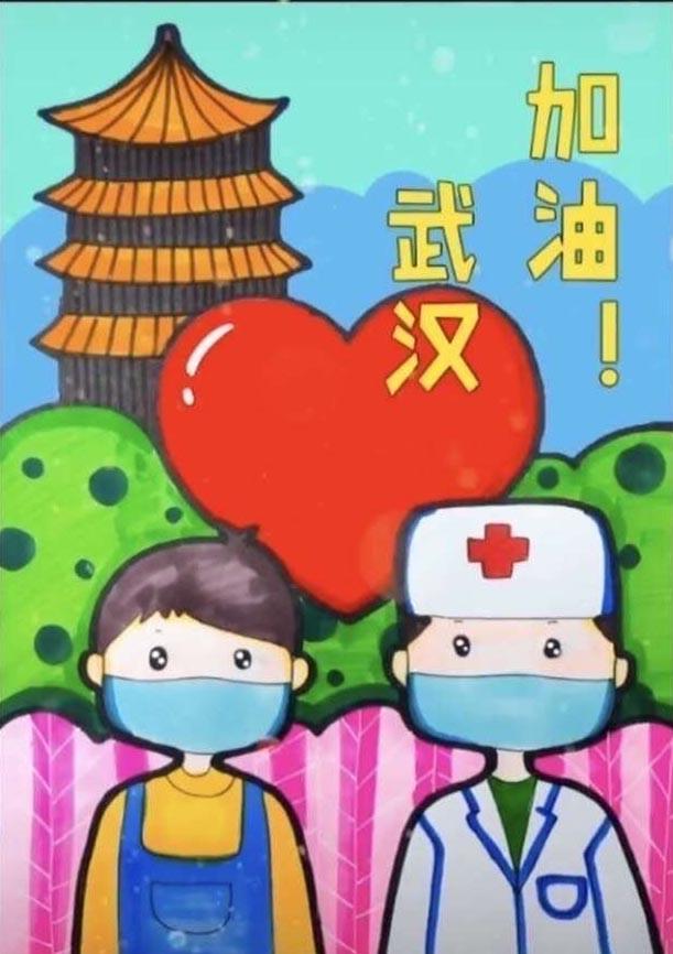 2020防控新型冠状病毒手抄报_新型冠状病毒手抄报简单