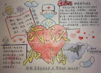 2020新型冠状病毒手抄报图片_防冠状病毒手抄报大全
