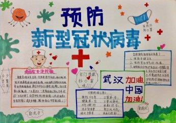 2020武汉加油抗疫情手抄报内容_抗疫情手抄报大全