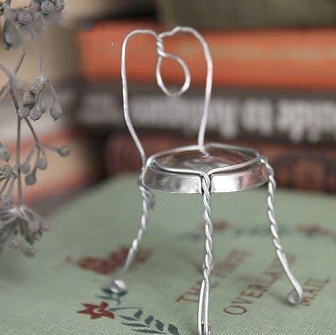 易拉罐做椅子的方法 易拉罐椅子制作教程