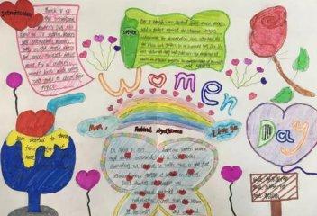 三八妇女节手抄报简单小学生_2020庆祝妇女节的手抄报