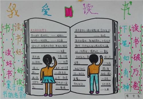 2020世界读书日手抄报_世界读书日手抄报图片