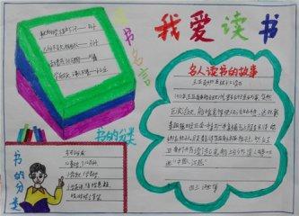 2020世界读书日手抄报图片素材_4.23世界读书日手抄报文字
