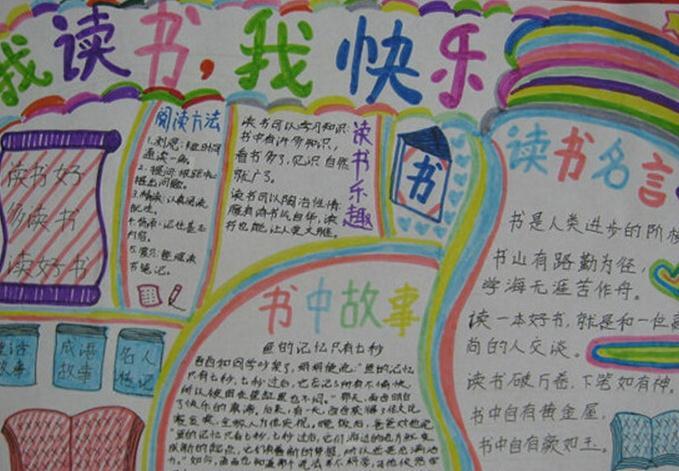 世界读书日手抄报优秀作品_书香校园手抄报