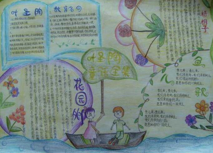 四年级世界读书日手抄报优秀绘画