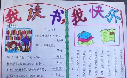 三年级世界读书日手抄报模板设计