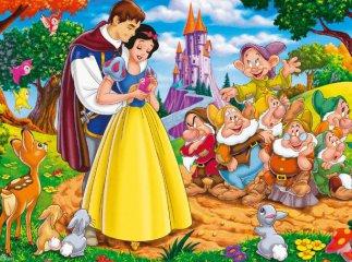 白雪公主童话故事文字版