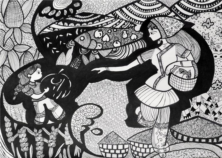 五一劳动节儿童图画优秀作品_劳动节简单绘画作品