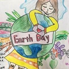 2020关于世界地球日的儿童画怎么画