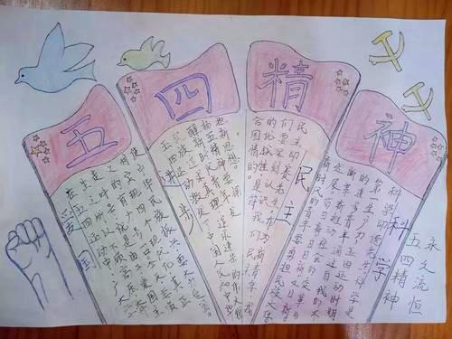 54青年节手抄报内容_五四手抄报图片大全2020