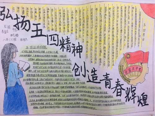 2020五四手抄报_五四青年节手抄图片精美