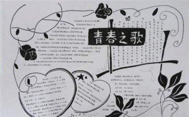 青年节手抄报简单又精美2020_五四精神手抄报图片大全