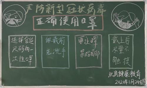 2020小學疫情黑板報_小學生疫情防控黑板報