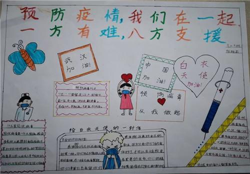 2020抗击疫情儿童手抄报图片_抗击疫情护士演讲稿素材