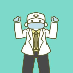 疫情中的医生小学生简笔画要怎么画