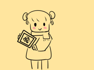 小女孩拜年简笔画怎么画