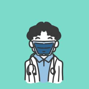 防疫之戴口罩的医生简笔画怎么画