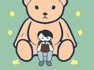 大玩具熊简笔画图片教程