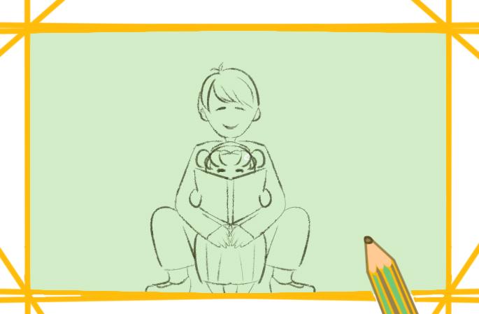 超简单的父亲节小学生简笔画要怎么画