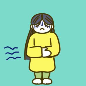 疫情病癥之腹瀉簡筆畫怎么畫