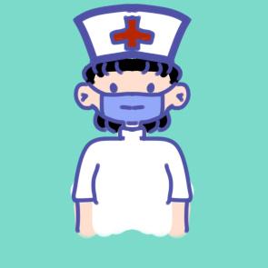 戴口罩的护士儿童简笔画要怎么画