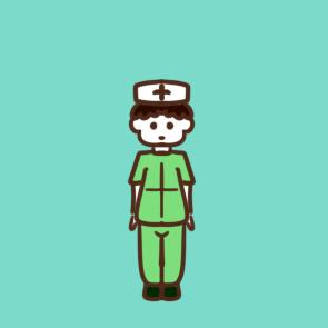 防疫护士简笔画怎么画