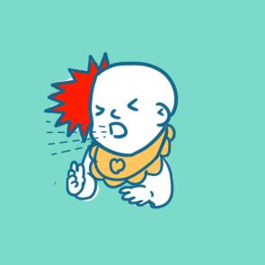 疫情癥狀之咳嗽簡筆畫怎么畫