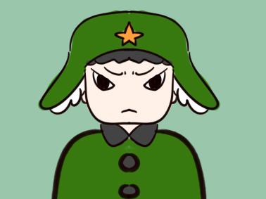 勇敢的解放军简笔画要怎么画