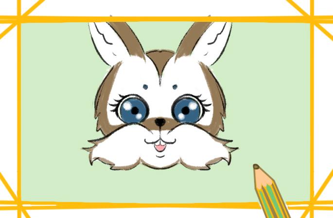 动物之兔子简笔画图片要怎么画