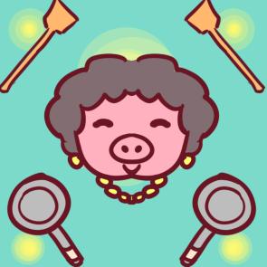 猪妈妈简笔画要怎么画 母亲节儿童画教程