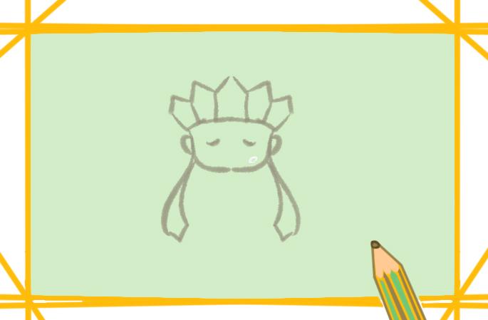 虔诚的唐僧简笔画图片教程