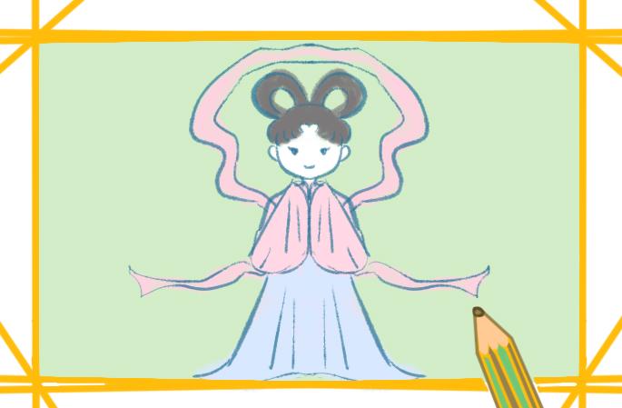 可爱的仙女简笔画图片要怎么画