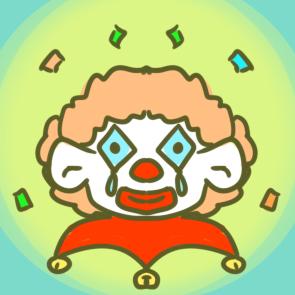 愚人节彩面小丑简笔画要怎么画