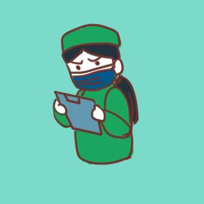 疫情前線的可愛護士簡筆畫怎么畫