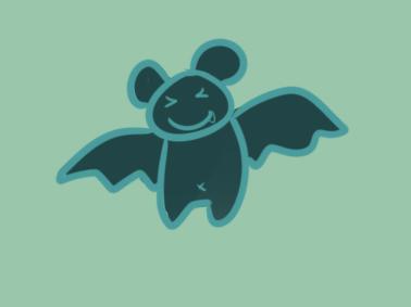 可爱的大蝙蝠简笔画要怎么画