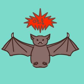 野生蝙蝠简笔画要怎么画