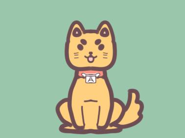 軟萌的柴犬簡筆畫圖片要怎么畫